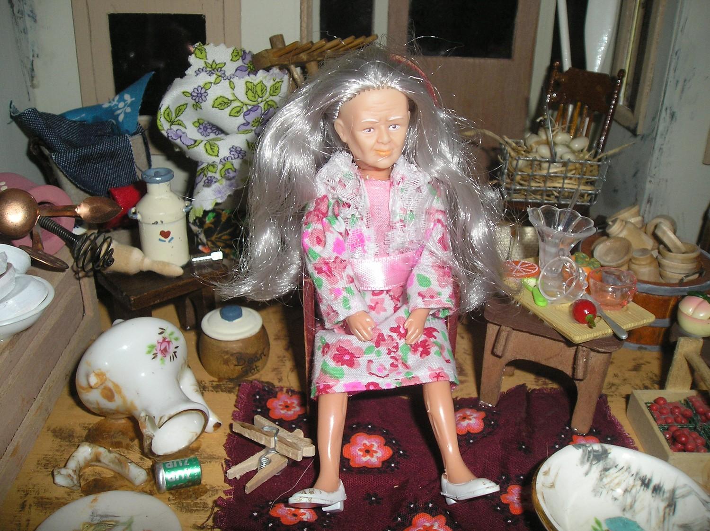 Hoarder Barbie