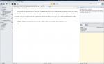 Scrivener screenshot 1
