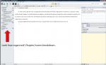 Scrivener screenshot 3