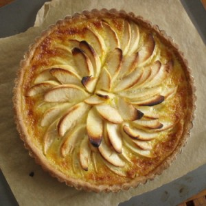 Alsatian Apple Tart cropped