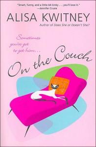 Cover of Alisa Kwitney's novel ON THE COUCH