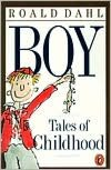 Cover of Roald Dahl's BOY