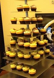 13C Cupcake tower