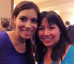 Me and Kirstin Chen, author of Soy Sauce for Beginners. You might remember her as a Deb Ball guest author in January.