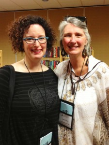 Fangirl moment with one of my favorite authors, the mega-author, Louise Penny.