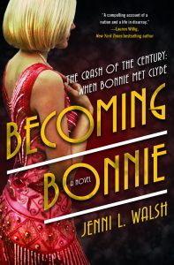 Excited for this 1920s Historical by Jenni L. Walsh about Bonnie and Clyde!